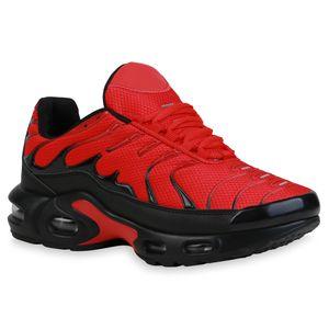 Giralin Damen Plateau Sneaker Blockabsatz Schnürer Profil-Sohle Schuhe 836352, Farbe: Rosa, Größe: 37