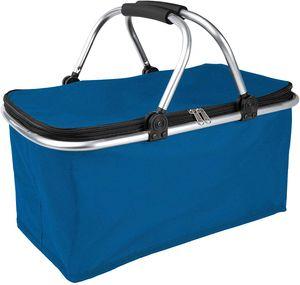 ONVAYA® Einkaufskorb faltbar mit Kühlfunktion | dunkelblau | Faltkorb mit Deckel | Isolierkorb | Einkaufstasche | Klappkorb | Thermokorb klappbar