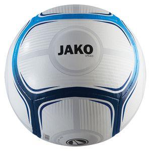 Jako Trainingsball Speed weiss/JAKO blau/marine 5