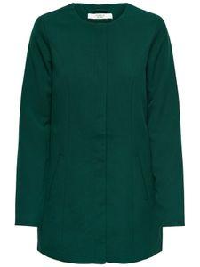 JDY Damen Mantel Only Trench Coat, Farben:Grün, Größe:38