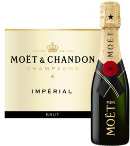 Moët & Chandon Brut Imperial Mini Champagner Champagne Frankreich | 12 % vol | 0,2 l
