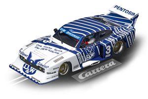 Carrera Digital 132 ford Capri Rennwagen 1:32 weiß/blau