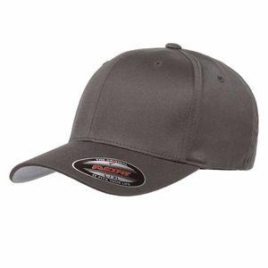 Flexfit® Baseball-Cap Gr. L / XL Dunkelgrau Wooly Combed Basecap Baseball Cap Mütze Kappe