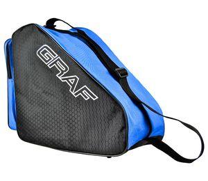 Graf Schlittschuh Tasche, Farbe:schwarz/blau