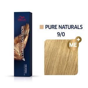 Wella Professionals Koleston Perfect Me+ Pure Naturals Professionelle permanente Haarfarbe 9/0 60 ml