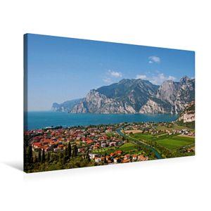 Calvendo  Textil-Leinwand 75 cm x 50 cm quer Ein Motiv aus dem Kalender Gardasee - lago di Garda by Sascha Ferrari, Ferrari Sascha; 7278764