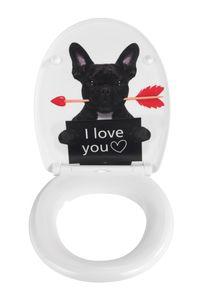 Premium WC-Sitz Guilty Dog