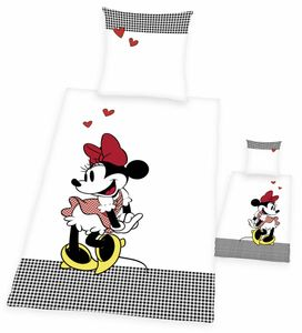 Disney's Minnie Mouse Renforcé-Bettwäsche 135 x 200 cm