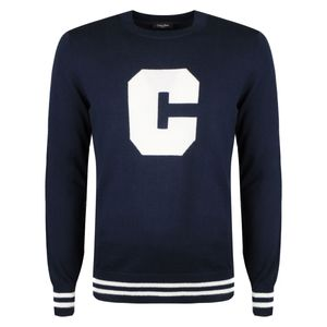 """Calvin Klein Pullover """"Saples"""" -  K10K102466 / Saples Intarsia - Blau -  Größe: XL(EU)"""
