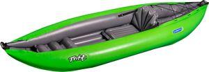 Gumotex Twist I 1er Schlauchkajak aufblasbar Schlauchboot ultraleicht, Farbe:grün