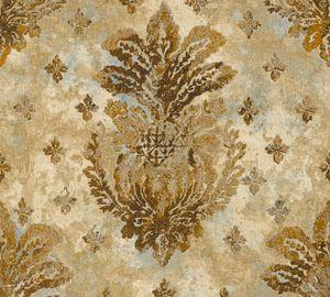 A.S. Création Vliestapete Boho Love Tapete metallic beige grau 10,05 m x 0,53 m 364561 36456-1