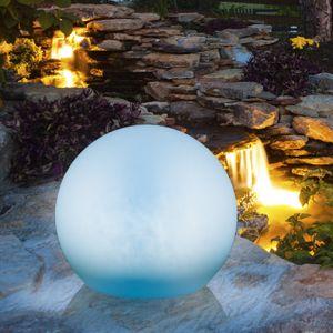 Solar Dekokugel LED Farbwechsel Deko Garten Dekoration Solarlampe Beleuchtung