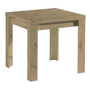 Tisch Esstisch Auszugstisch Küchentisch Funktionstisch ausziehbar MONZI Asteiche Eiche Nb. 80 x 80 cm