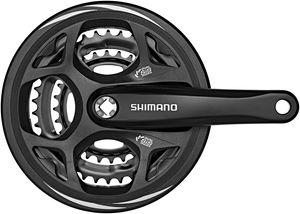 Shimano Altus FC-M311 Kurbelgarnitur 48/38/28 schwarz Kurbelarmlänge 170mm