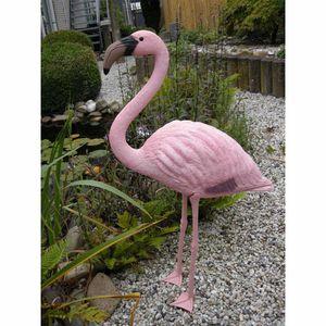 Flamingo Gartenfigur Gartendekoration Teichdeko