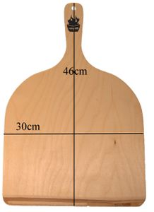 Pizzaschaufel, Flammkuchenbrett, Brotschieber 30x46cm