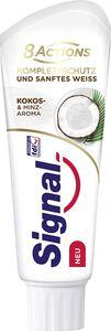 Zahncreme Signal Komplett Schutz Sanftes Weiss Kokos Minz Aroma 75 ml. Zahn Pflege Kosmetik Hygiene