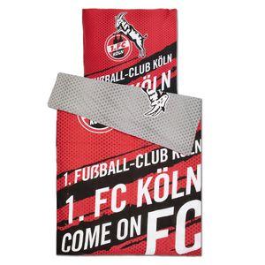 """1. FC Köln Wendebettwäsche """"Come on FC"""""""
