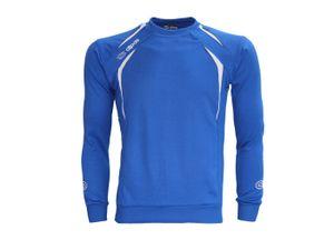 alpas Sweatshirt Spirit Blau AUSLAUFMODELL Gr. 116