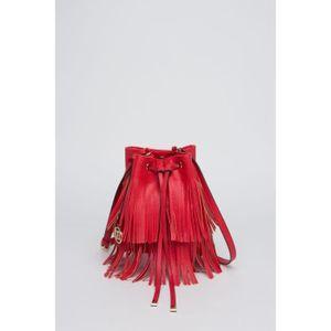 MANOUKIAN Fransen Handtasche Alba Red Women