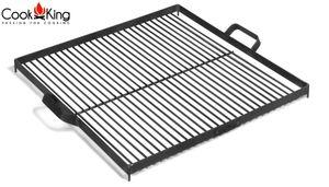 CookKing 1112261 Grillrost aus Rohstahl 50x50cm für Feuerschale Terrassenschale 70cm
