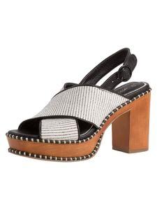 Tamaris Damen Sandalette weiß 1-1-28323-24 normal Größe: 38 EU