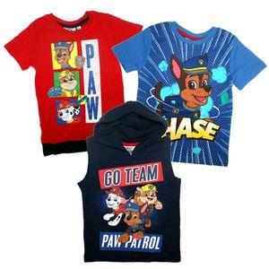 Kinder T-Shirt Jungen | Paw Patrol | Größe 98 - 128 | Kleine Helden, Größe:116, Farbe:Dunkelblau