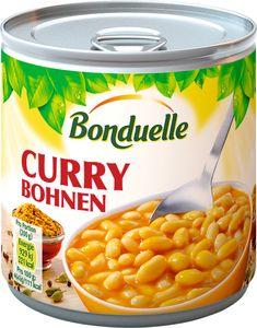 Bonduelle Curry Bohnen weiße Bohnen in süßlich milder Curry Soße 430g