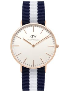 Daniel Wellington Uhr - Damenuhr Glasgow Rose Gold - 0503DW