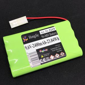 VinCorp 9,6V NiMH Akku 2400mAh AA Mignon L4x2 Mini Tamiya Stecker RC Power