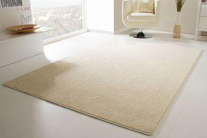Steffensmeier Designer Teppich Modern Cambridge für Wohnzimmer, Esszimmer in Beige, Größe: 200x300 cm