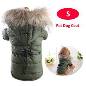 Haustier-Hundemantel-Winter-warme Kleidungs-Welpen-Jacke Kleine Hundehaustier-Kleidung