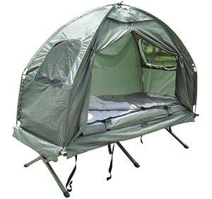 Bc-elec - 578-008 Feldbett mit Zelt, Schlafsack und Luftmatratze