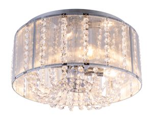Globo Lighting WALLA Deckenleuchte Chrom, 4xE14, 15091D