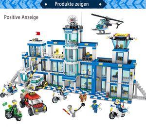 Baustein Spielzeug, Kleinteilchen Baustein Spielzeug für das Hauptquartier der Polizei Gegenschlag 1397PCS