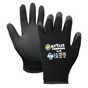 Arbeitshandschuhe Black Thermo Winterhandschuhe gefüttert, Größe:11