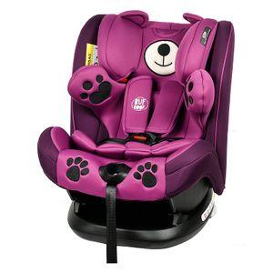 Mos Martin Kindersitz mit Isofix Purple BUF BOOF 0 -36 kg, 137 Grad Schlafposition