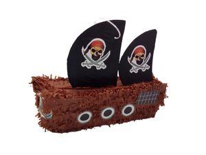 Pinata Piratenschiff Kindergeburtstag Schiff Pirat Mottoparty Partydeko Piñata