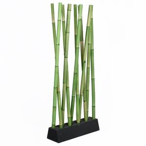 Bambus Raumteiler PARAVENTO Grün ca. 97x200cm (BxH)