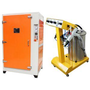 T-Mech Pulverofen und Maschine im Set