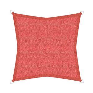 Sonnensegel Basic, Farbe:grau, Breite:3.6 m, Länge:3.6 m, Form:quadratisch