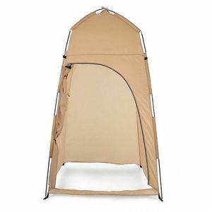 Sunnyme Pop up Toilettenzelt Umkleidezelt Camping Duschzelt Outdoor Mobile Toilette Umkleidekabine Lagerzelt Gelb