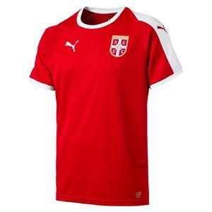 puma T-Shirt Serbia Home Shirt SS Repli