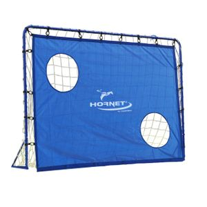 HUDORA HORNET Fußballtor Tor Kick It mit Torwand, 213x152 cm
