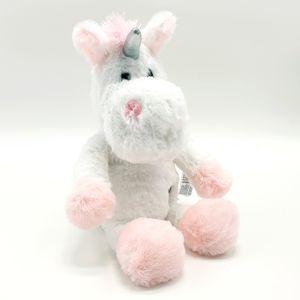 Sunkid LED Einhorn Pferd Plüsch Kuscheltier Farbwechsel Rosa Stofftier Geschenk