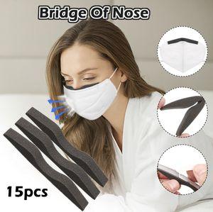 Schwammmaske Nase Bridgess absorbiert Schwei?, um den Nasenkomfort zu erh?hen 15pcs