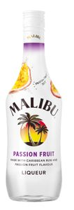 Malibu Passion Fruit Likör Made with Caribbean Rum and Passion Fruit Flavor | 21 % vol | 0,7 l