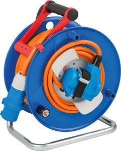 Brennenstuhl 1182470100, Schwarz, Blau, Orange, Rot, Kunststoff, 230 V, 23 m, IP44, 225 mm