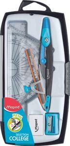 Maped Zirkelkasten Metal Open 8-teilig farbig sortiert