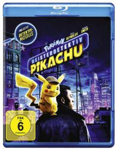 Pokemon - Meisterdetektiv Pikachu (BR) Min: 108DD5.1WS - WARNER HOME  - (Blu-ray Video / Sonstige / unsortiert)